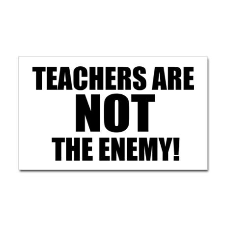 Teachers teacher appreciation giftsteacher giftsbumper stickerscar decalspolitical
