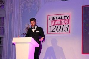 Rick Edwards presenting The Pure Beauty Awards 2013
