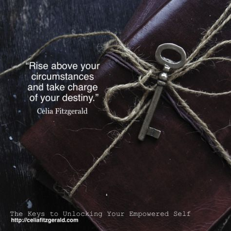 Quote from Celia Fitzgerald. The Keys to Unlocking Your Empowered Self.