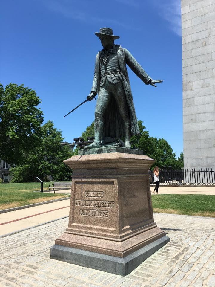 Prescott Memorial Bunker Hill