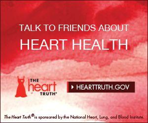 Speak from the heart #HeartTruth #heart #health