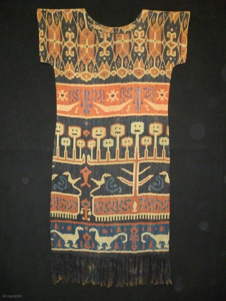 1880 Indonesian Ikat dress