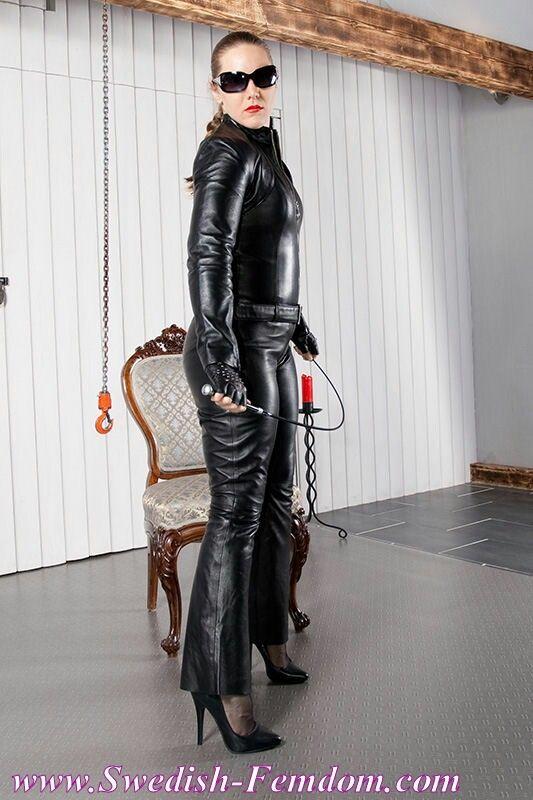svensk porrvideo leather bondage