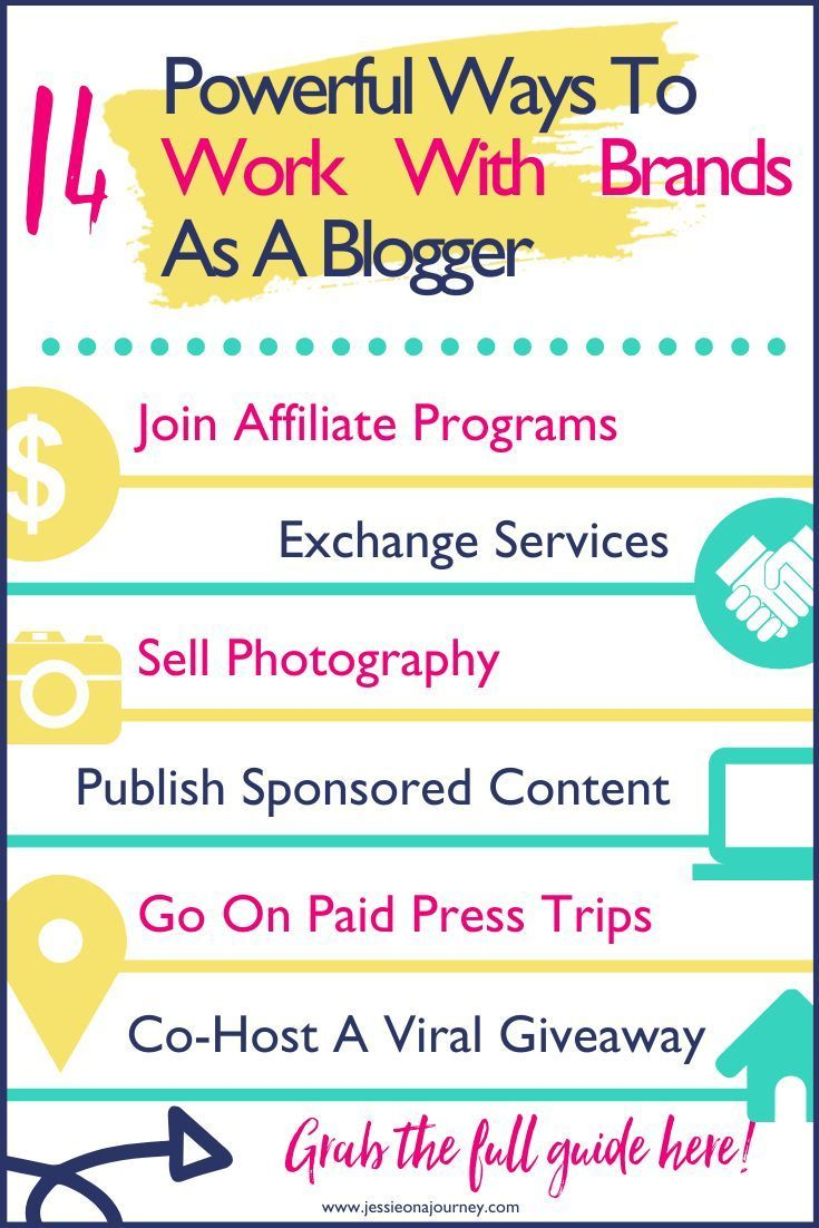 Working With Brands 14 Powerful Influencer Strategy Ideas For Bloggers In 2020 Blogging Advice Profitable Blogging Blog Income