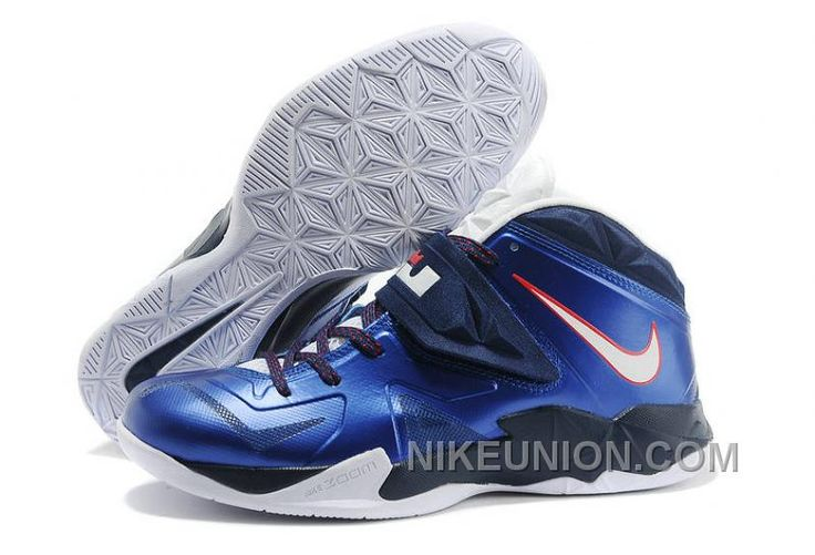 http://www.nikeunion.com/nike-lebron-zoom-soldier-7-blue-white-navy-red-cheap-to-buy.html NIKE LEBRON ZOOM SOLDIER 7 BLUE WHITE NAVY RED CHEAP TO BUY Only $67.59 , Free Shipping!