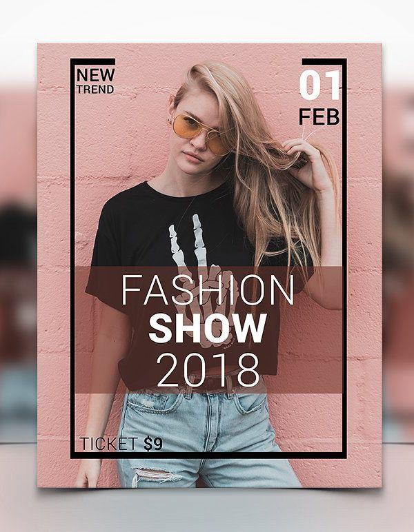 Fashion Show Flyer Design Brochure  Flyer Designs Pinterest - fashion design brochure template