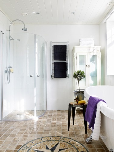 Dusj og badekar