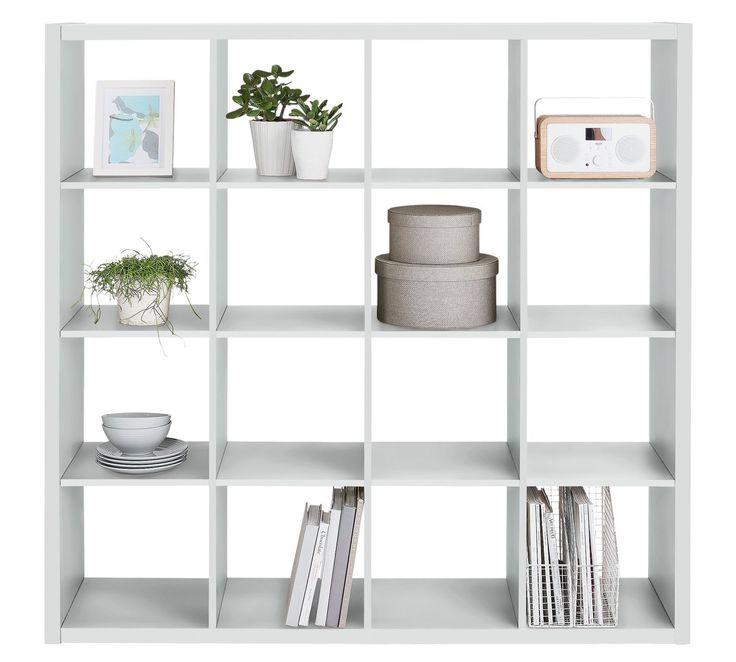 Buy Hygena Squares Plus 16 Cube Storage Unit - White at Argos.co.uk, visit Argos.co.uk to shop online for Bookcases and shelving units, Living room furniture, Home and garden