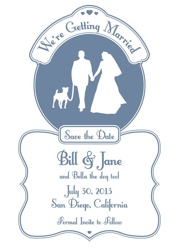 51 best Wedding stationary and theme images on Pinterest Colors - wedding announcement template