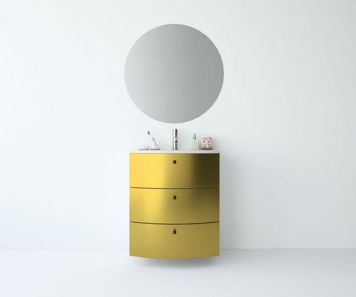 Muebles de baño, propuestas de composiciones para conseguir amplitud en el almacenaje: cajones, puertas correderas, abatibles, huecos vistos, etc. unibaño-compactos-almacenaje-21