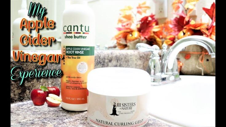 How To Do A Apple Cider Vinegar Rinse | Cantu | 3 Sister's of Nature | Natural hair  #naturalhair #naturalhaircommunity  #cantu #AppleCiderVinegar  #ACV #scalp #HairGrowth #hair #youtuber #vlogger #scalp
