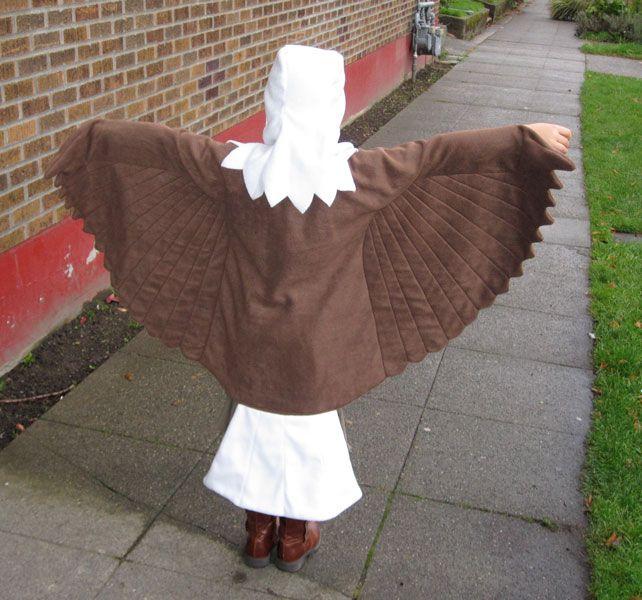 Eagle Costume for my friend's daughter by RhinestoneRagdoll.deviantart.com on @deviantART