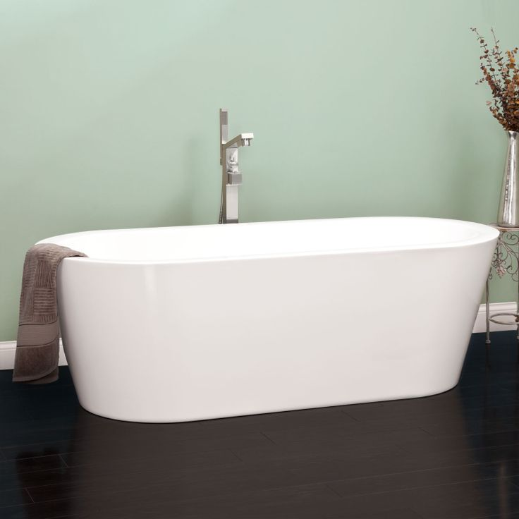 9 best images about freestanding acrylic bathtubs on for Best freestanding tub material