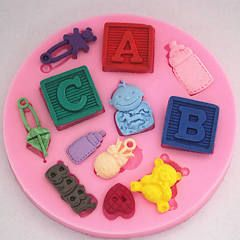 How to use the Baby Mold; A McGreevy Cakes Tutorial - YouTube