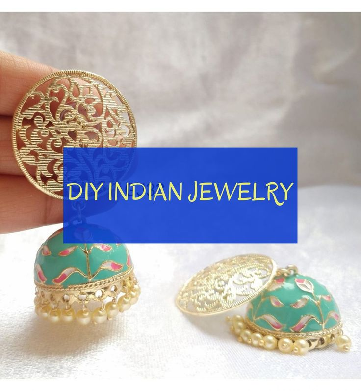 diy indian jewelry # diy indischer schmuck # gioielli indiani fai da te