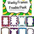 Here are some fun little frames for your commercial use documents. They have transparent centers. Terms are easy and only require a link back to my...