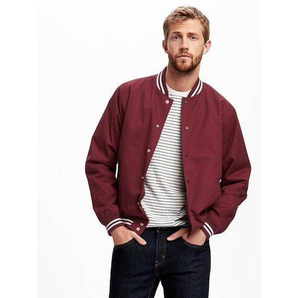 how to wear a letterman jacket for guys