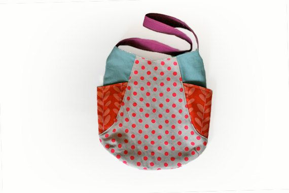 shoulder tote Everyday tote mothers bag 241 tote by MihotchStitch, $49.00