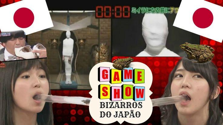 Os GAME SHOWS mais BIZARROS do Japão ! - Japão Cultura