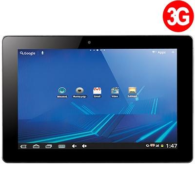 Turbo-X Tablet Hive II 3G. Με τετραπύρηνο επεξεργαστή, και λειτουργία 3G για να είστε πάντα Online.