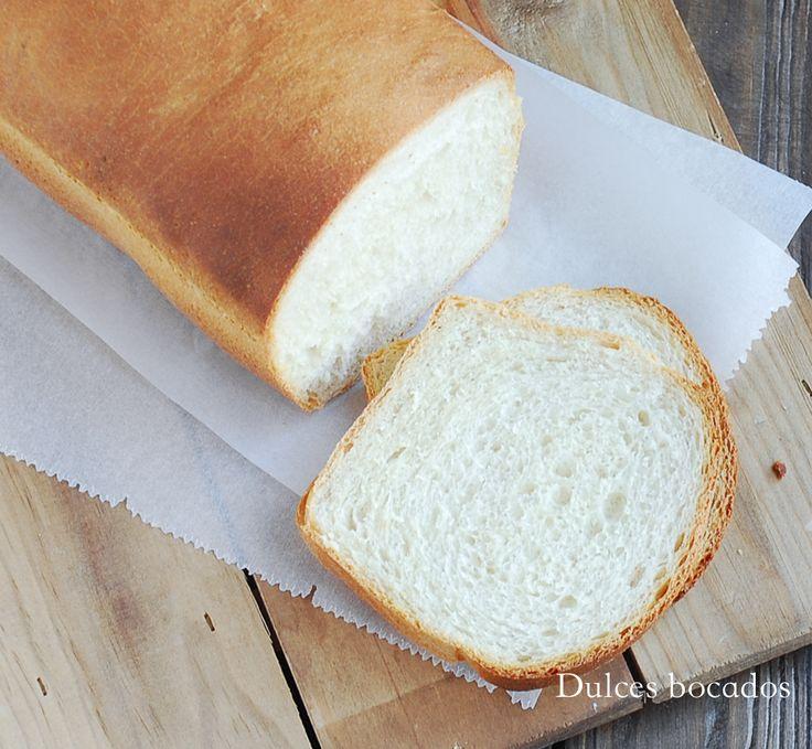 Homemade sandwich bread - Pan de molde casero