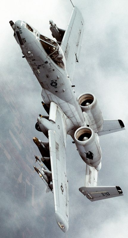 Military Aircraft - Fairchild Republic A-10 Thunderbolt U.S. Air Force