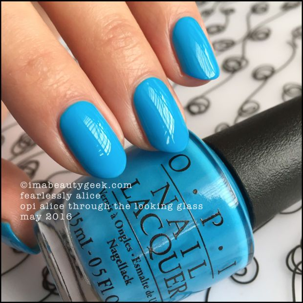 OPI Fearlessly Alice – OPI Alice Through the Looking Glass 2016