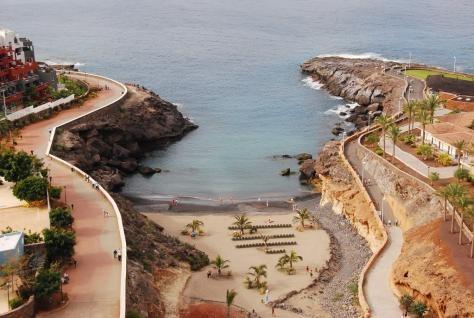 Roca Nivaria, Playa Paraíso, #Tenerife Direct access to the beach