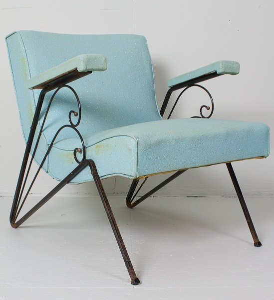Vinyl Patio Chair Vintage Vinyl Restoration Project By Artmyth, $95.00