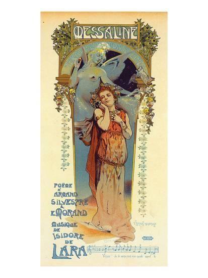 Messaline - Opera Poster by Lorent-Heilbronn at AllPosters.com