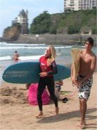French and Surf Course in Biarritz, Learn French and Surf France