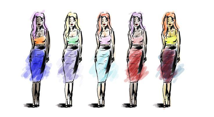 Gemima's Style Illustration