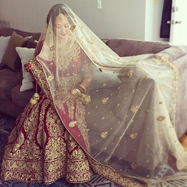 A beautiful iPhone image of our bride, Alison, she was spotted in a rich-velvet lengha for her wedding ceremony. Thank you again for choosing #CBS as your bridal stylists and congratulations to the happy couple. ———————————————————————— Make-Up and Hair: @la_belle_epoque_2016  Inquiries: raji@crossoverbollywoodse.ca Snapchat: rajikhaira  Website: www.crossoverbollywoodse.ca  #crossoverbollywoodse #bchicbyrajikhaira #snapchat #instagram #snapus #selfie #weddinggown #pakistanifashion…