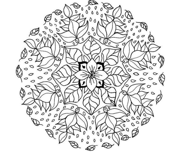 Pin By Halyna Pynyak On Printables Mandala Coloring Pages Mandala Coloring Books Mandala Coloring
