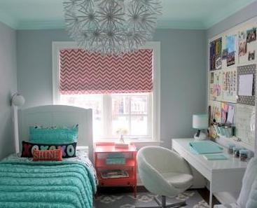 Siempre es primavera: Dormitorio para niña