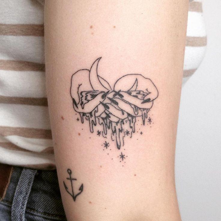 ⠀⠀⠀⠀⠀⠀ · ⁂ Hand Poked Tattoos ⁂ · ⠀⠀⠀⠀⠀⠀⠀⠀⠀ ⠀ ⠀··≪❩✳︎☾≫··  · Based in Los Angeles · · bookings@taticompton.com ·