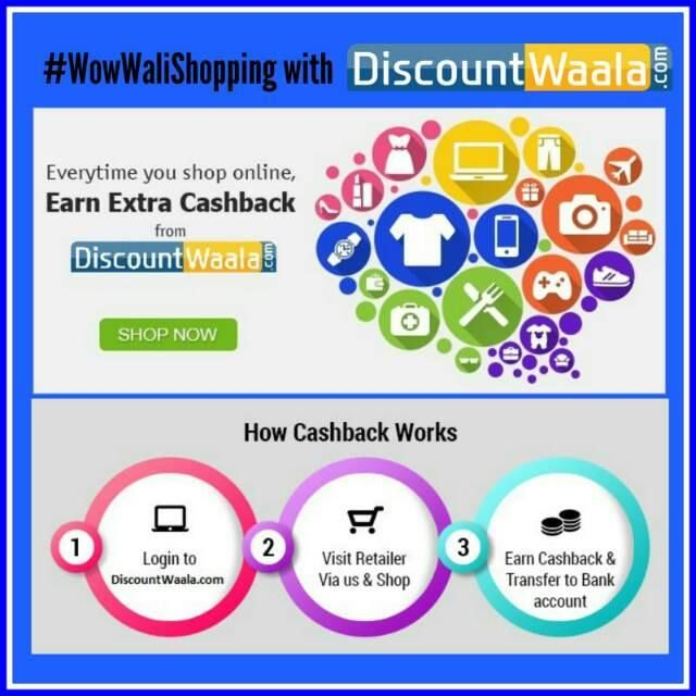 Shop with DiscountWaala and save your Money...