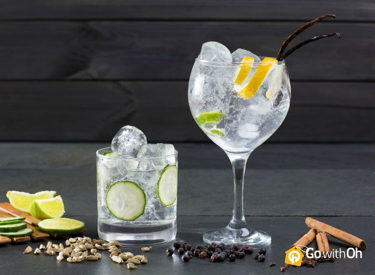 """Gin Tonics are """"Oh"""" so trendy in #Barcelona!  Tell us! Where did you have the best one ever? #Gintonic #Spain #Party #Barcelona"""