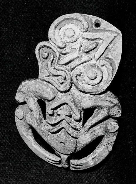 Pendant (Hei Tiki) | Maori people (?) | The Met