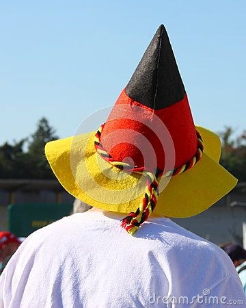 German Fan With Flag - Stock Photo - Download From Over 45 Million High Quality Stock Photos, Images, Vectors. Sign up for FREE today. Image: 70724583