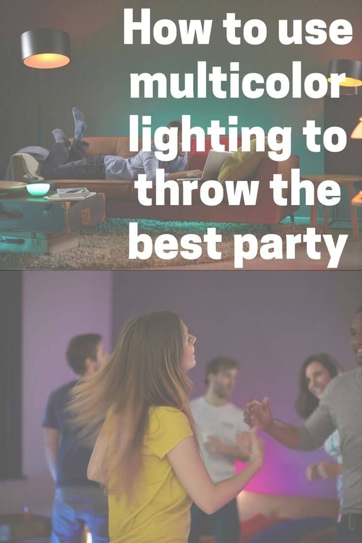 Smart lights can help you throw the coolest party, with lights matching the beat of the music using free apps.