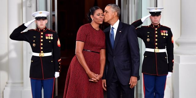 Barack and Michelle Obama's Sweetest Moments in Photos - Barack and Michelle Obama Anniversary