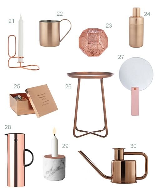Best 25 Copper Accessories Ideas On Pinterest Rose Gold