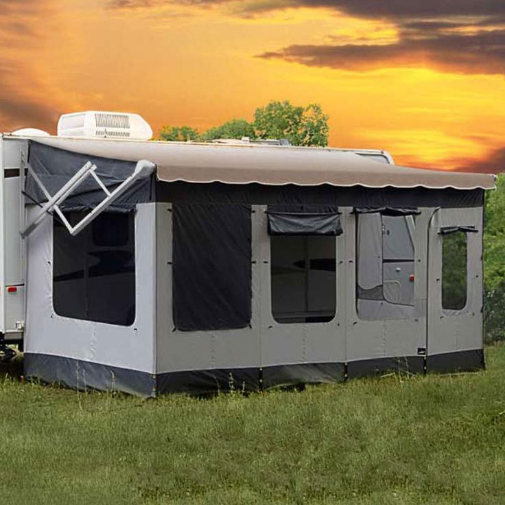 Carefree 291200 Vacationr Screen Room For To Awning Sports Outdoors