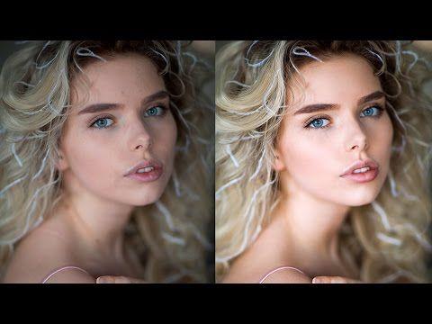 How I Retouch Skin, Photoshop Tutorial - YouTube