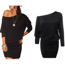 Like and Share if you want this  New Fashion Autumn Oblique Collar Long Sleeve Mini Dress Women Casual Dresses Black/Sky Bule Plus Size Loose Bottoming Dress     Tag a friend who would love this! For US $9.51    FREE Shipping Worldwide     Get it here ---> http://womensclothingdeals.com/products/new-fashion-autumn-oblique-collar-long-sleeve-mini-dress-women-casual-dresses-blacksky-bule-plus-size-loose-bottoming-dress/