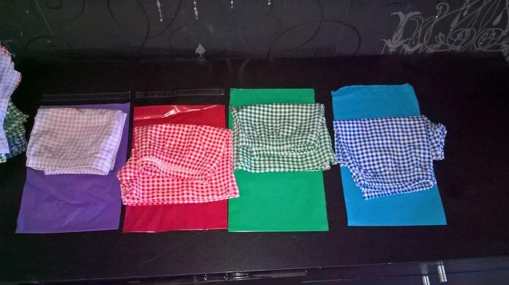 "original design school shorts ""STRETCH"" gingham boxer pants dress S,M,L modesty"