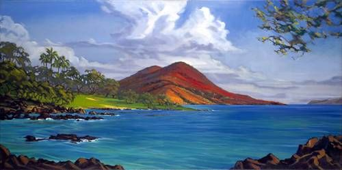 """""""Above Wailea"""" by Janet Spreiter at Maui Hands"""