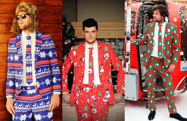 These suits take the ugly Christmas sweater to the next level | Shine On - Shine from Yahoo Canada