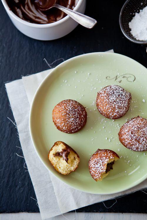 Gluten Free Nutella Doughnuts | Food | Pinterest